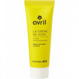 Avril Beauté Crème de jour peau normale et mixte Huile de Macadamia 50 ml Avril Beauté