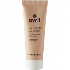 Avril Beauté Crème de jour peau sèche et sensible Huile de Noyau d'Abricot 50 ml Avril Beauté Soins de jour Bio Onaturel.fr