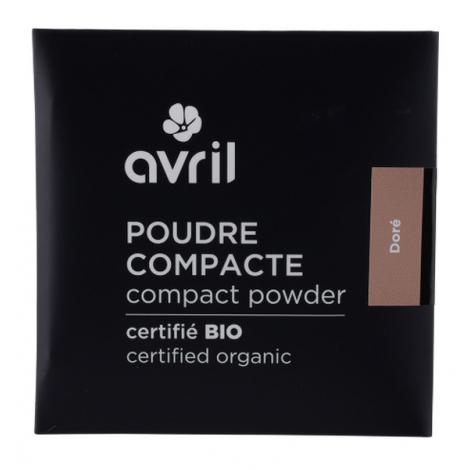 Avril Beauté Poudre compacte Dorée 7 gr Onaturel