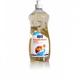 Liquide vaisselle Pomme sans allergènes 1L Etamine du Lys Vaisselle Mains Bio Onaturel.fr