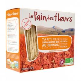 Le Pain Des Fleurs Tartines craquantes au quinoa 150g Le Pain Des Fleurs Accueil Onaturel.fr