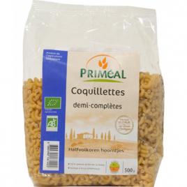 Primeal Coquillettes demi complètes 500g Primeal Accueil Onaturel.fr