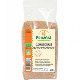 Primeal Couscous quinoa épeautre 500g Primeal Accueil Onaturel.fr
