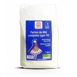 Celnat Farine de Blé complète Type 110 1 kg Celnat