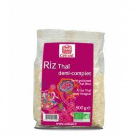 Celnat Riz Thaï 1/2 complet 500g Celnat Pâtes et Riz bio Onaturel.fr