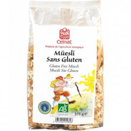 Celnat Muesli Sans Gluten 375g Celnat Muesli Bio Onaturel.fr