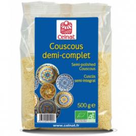 Celnat Couscous Demi Complet bio 500g Celnat Alimentation Bio Onaturel.fr