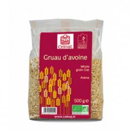 Celnat Gruau d'Avoine 500g Celnat Céréales petit déjeuner Onaturel.fr