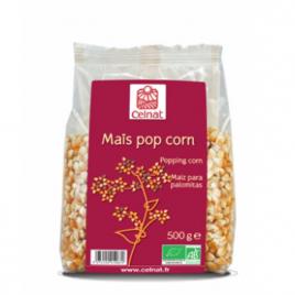 Celnat Maïs Pop Corn 500 g Celnat Légumineux / Céréales Bio Onaturel.fr