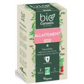 Bio Conseils Infusion Allaitement bio 20 sachets 32g Bio Conseils Femme enceinte / Allaitement Onaturel.fr