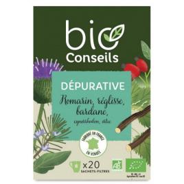 Bio Conseils Infusion Dépurative bio 20 sachets 32 g