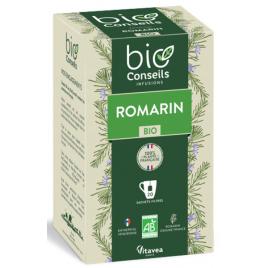 Bio Conseils Infusion Romarin bio 20 sachets 32g Bio Conseils Elimination Onaturel.fr