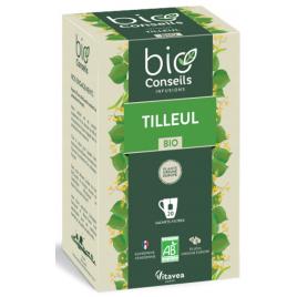 Bio Conseils Infusion Tilleul bio Détente Sommeil 20 sachets 32 g Bio Conseils Anti-stress/Sommeil Onaturel.fr