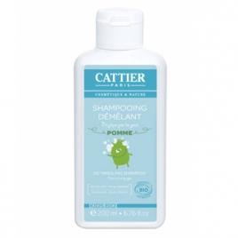 Cattier Shampoing démêlant enfants ne pique pas les yeux à la Pomme 200ml Cattier Bain / Shampooing Onaturel.fr