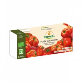 Primeal Purée de Tomates 3 briquettes de 200g Primeal Accueil Onaturel.fr