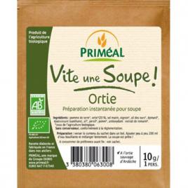 Primeal Vite une soupe Ortie sauvage d'Ardèche sachet individuel 10g Primeal