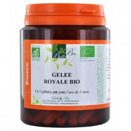 Belle et Bio Gelée royale lyophilisée bio 200 gélules 65g Belle et Bio Forme et Vitalité Onaturel.fr