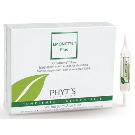 Phyts Emonctyl + Drainage intestinal et lymphatique 20 ampoules de 3ml soit 60ml Phyts Categorie temp Onaturel.fr