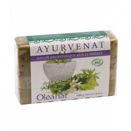 Oleanat Savonnette ayurvédique aux 18 plantes 100g