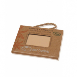 Couleur Caramel Poudre compacte n° 02 Beige Clair 6.5g Couleur Caramel Soins du visage Bio Onaturel.fr