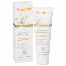 Florame Masque visage liftant anti âge au Lys blanc 75ml Florame Masques Bio Onaturel.fr