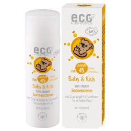 Eco Cosmetics Crème solaire babysun LSF/SPF45 Grenade et Argousier 50ml Eco Cosmetics Soins solaires Bio Onaturel.fr