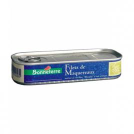 Bonneterre Filets de Maquereaux au Muscadet 176g Bonneterre Préparations salées bio Onaturel.fr