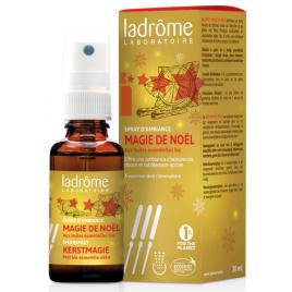 Ladrome Spray d'ambiance Magie de Noël 100% HE 30ml Ladrome Parfum d'ambiance Onaturel.fr