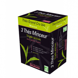 Nutrigee Infusion 3 thés Minceur gamme Thés Grand Cru Nutrigee Accueil Onaturel.fr