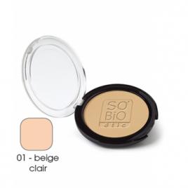 So'Bio étic Poudre compacte 01 Beige clair 10g So'Bio étic Anti-âge / Beauté Onaturel.fr