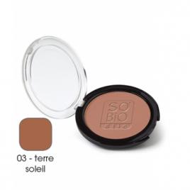 So'Bio étic Poudre compacte 03 Terre Soleil 10g So'Bio étic Anti-âge / Beauté Onaturel.fr