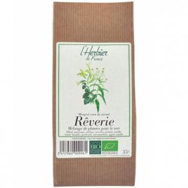 Herbier De France Infusion Rêverie sommeil en sachet kraft 35g Herbier De France Anti-stress/Sommeil Onaturel.fr