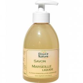Douce Nature Savon de Marseille naturel flacon pompe 300ml Douce Nature Savons d'Alep / Marseille Onaturel.fr