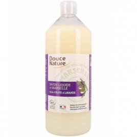 Douce Nature Recharge du Savon de Marseille liquide Olive et Lavande 1 litre Douce Nature Savons d'Alep / Marseille Onaturel.fr