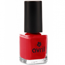 Avril Vernis à ongles Vermillon n°33 7ml Avril Beauté Vernis à ongles bio Onaturel.fr