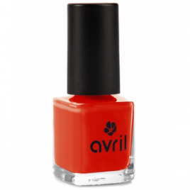 Avril Vernis à ongles Coquelicot n°40 7ml Avril Beauté Vernis à ongles bio Onaturel.fr