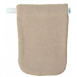 Popolini 1 gant de toilette en coton biologique écru Onaturel
