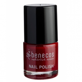 Benecos Vernis à ongles Cherry Red 9ml Benecos Vernis à ongles bio Onaturel.fr