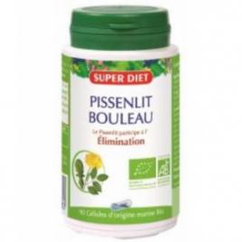 Super Diet Pissenlit bouleau 90 gélules Super Diet Categorie temp Onaturel.fr