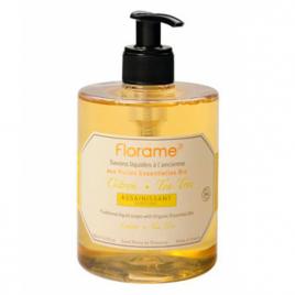 Florame Savon liquide Citron Tea Tree Assainissant 500ml Florame Savons liquides Bio Onaturel.fr