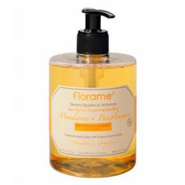 Florame Savon liquide Mandarine Pamplemousse Rafraichissant 500ml Florame Savons liquides Bio Onaturel.fr