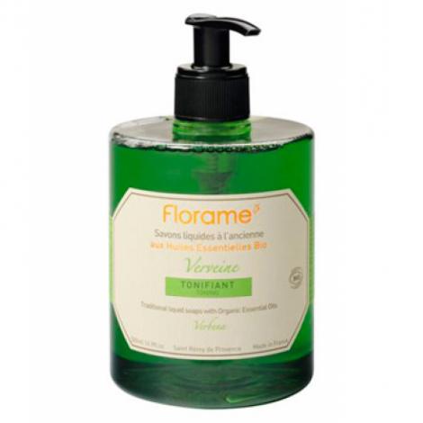 Florame Savon liquide Verveine Tonifiant 500 ml Florame Savons liquides Bio Onaturel.fr