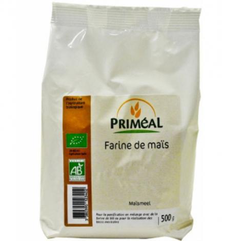 Primeal Farine de maïs 500g Primeal Farines Bio Onaturel.fr