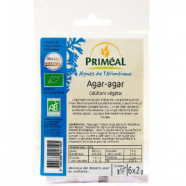 Primeal Agar Agar en poudre gélifiant végétal 6 X 2 g Primeal Accueil Onaturel.fr
