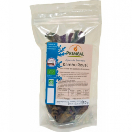 Primeal Kombu royal origine France Algues 50g Primeal