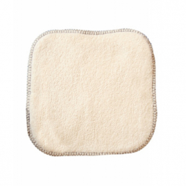 Lulu Nature La débarbouillette 100% coton biologique 20X20cm Lulu Nature Categorie temp Onaturel.fr
