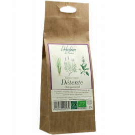 Herbier De France Bienvenue Détente infusion sachet 35g Herbier De France Anti-stress/Sommeil Onaturel.fr