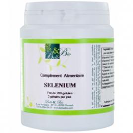 Belle et Bio Selenium naturel 200 gélules Belle et Bio Anti-stress/Sommeil Onaturel.fr