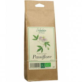 Herbier De France Passiflore plantes sachet 40g Herbier De France Anti-stress/Sommeil Onaturel.fr
