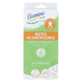 Etamine du Lys Piège naturel mites alimentaires Etamine du Lys Anti-mites / Anti-moustiques / Anti-insectes Onaturel.fr